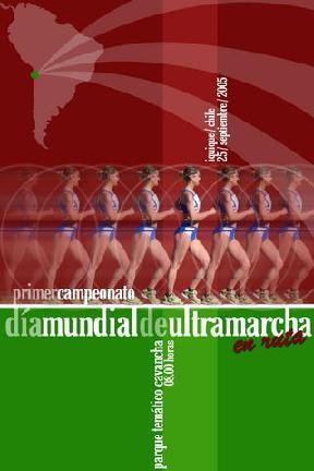 Noticias: Afiche Día Mundial Ultramarcha Iquique 2005