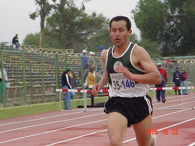 Noticias: Juan Jofre B. del Club Atletico Masters  de Talca Vencedor en la Medio Maratón