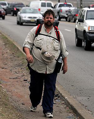 El hombre que perdió peso para encontrar la felicidad