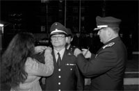 Celebran día del Sub Oficial Mayor de Gendarmería de Chile en Iquique
