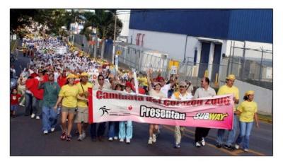 En varias partes del mundo han organizado la Caminata del Corazón en Iquique se realizará en Septiembre la Marcha Atlética  con apoyo Cardiovascular